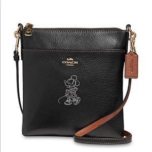 Brand new Coach Minnie Mouse black crossbody bag